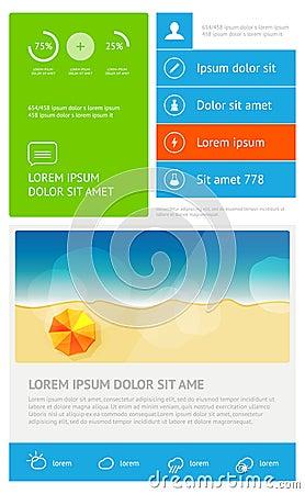 Elements of infographics