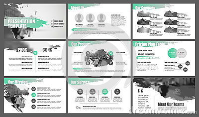 Elements for and presentation templates. Vector Illustration