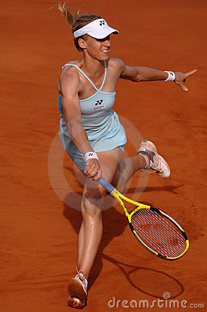 Elena Dementieva (RUS) Royalty Free Stock Photography - Image: 5408187