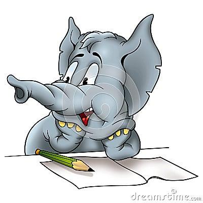 Elephant correspondent
