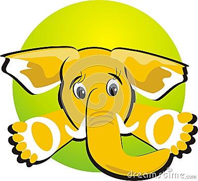 Elephant. Icon
