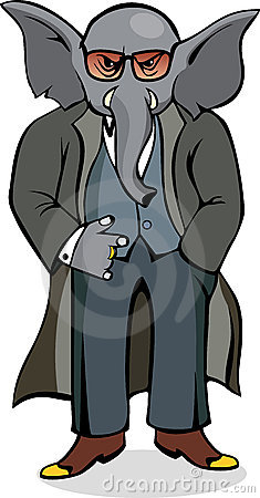 Elephant Mobster