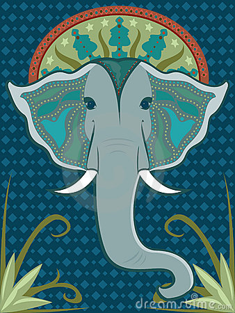 Elephant Patterned