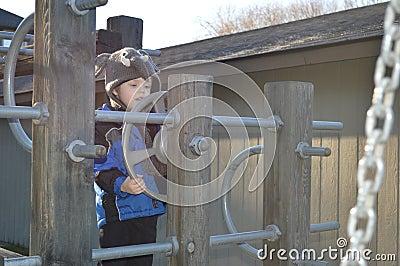 Elephant on the playground 2
