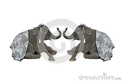 Elephant Sawasdee Thailand