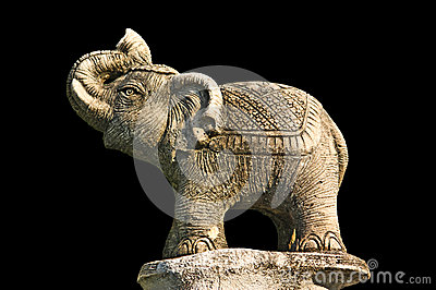 Elephant Sculpture Royalty Free Stock Photography - Image: 25412847