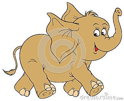 Elephant (vector clip-art)