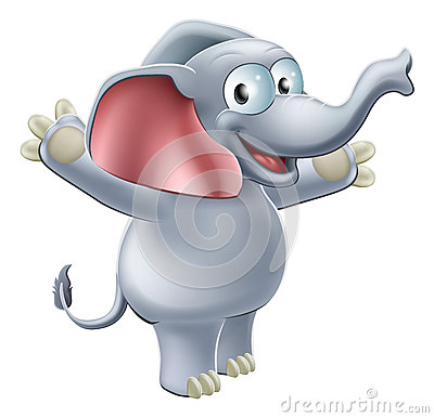 Elephant Waving