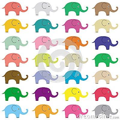 Elephants background5