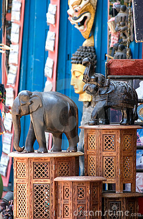 Elephants statuettes