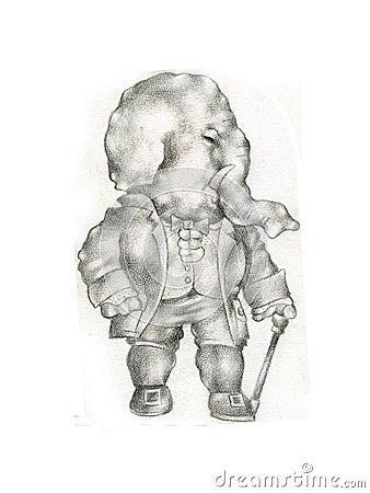 Elephantwcane