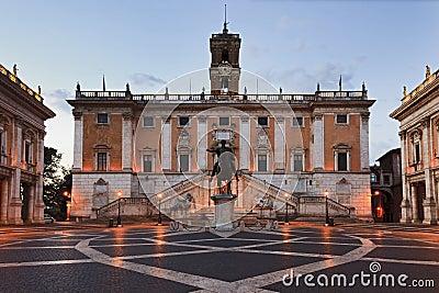 Elevação de Roma Capitoline