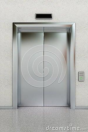 Elevador Cerrado Foto De Archivo Imagen 20464480