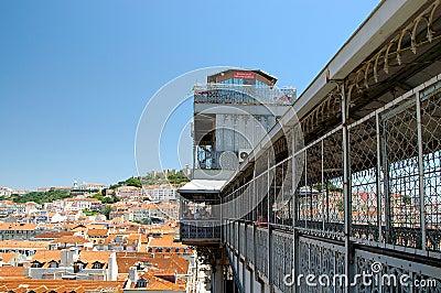 Elevador de Santa Justa: Lift in Lisbon