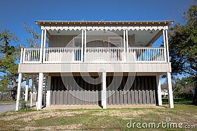 Elevated Home: Coastal Cottage
