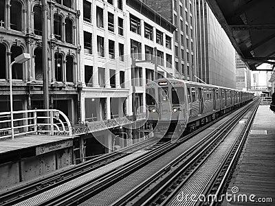Elevated Subway Station