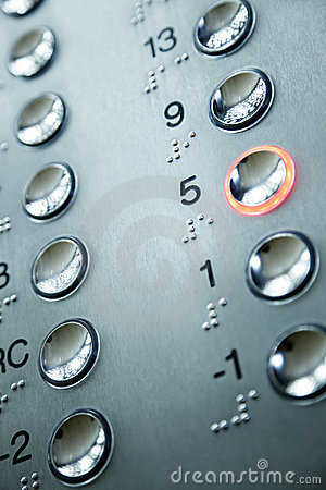 Free Elevator Keypad Royalty Free Stock Photo - 7733645