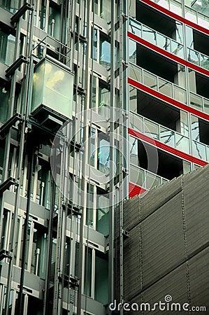 Elevator - Sony Center in Berlin Editorial Photo