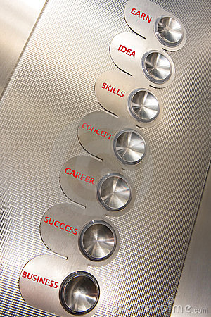 Elevator of success