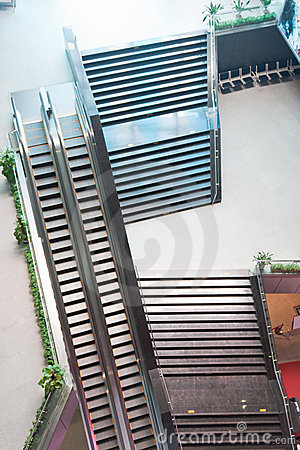Elevators and stairs