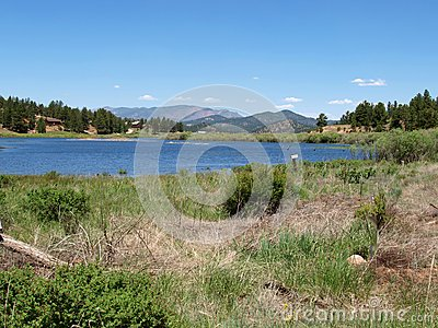 Eleven Mile Reservoir Stock Photo Image 56165764