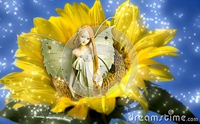 Elf fairy of dreams