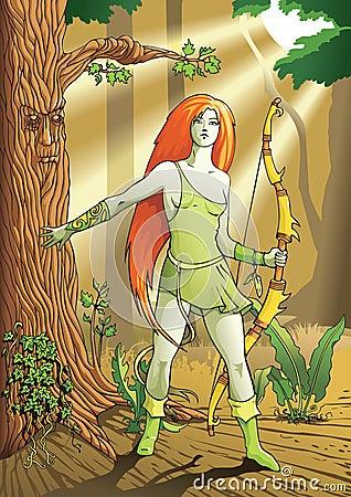 Elf female archer