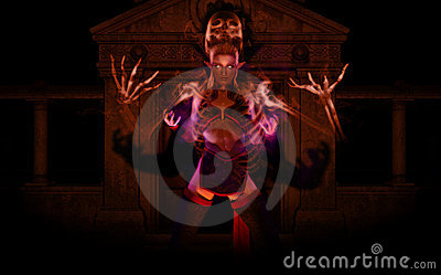 Elf Necromancer Royalty Free Stock Images - Image: 14389149
