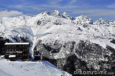 Elferhutte in Stubai Alps Editorial Image