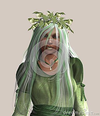 Free Elfin Goddess Stock Image - 11190351