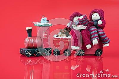 Elfs on train