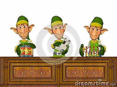 Elfs Working