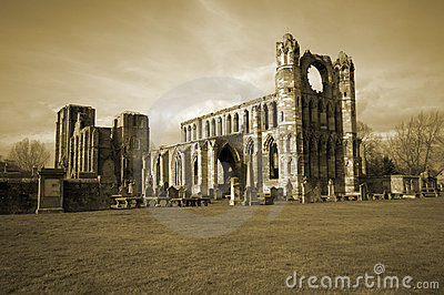 Elgin Cathedral in Scotland