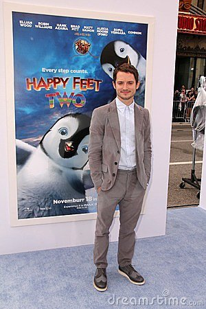 Elijah Wood Editorial Stock Image