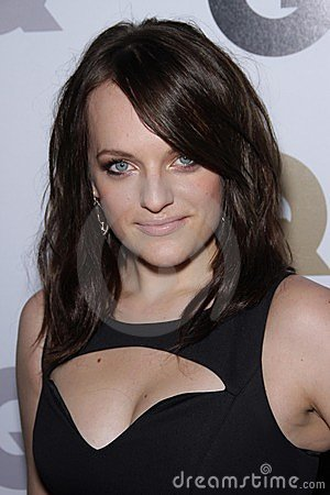 Elisabeth Moss Editorial Stock Photo