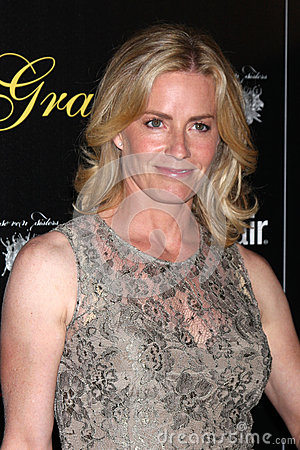 Elisabeth Shue arrives at the 37th Annual Gracie Awards Gala Editorial Photography