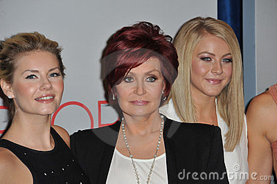 Elisha Cuthbert, Julianne Hough, Sharon Osbourne, Editorial Image
