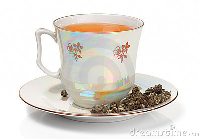 Elite Oolong Tea In Porcelain Cup Royalty Free Stock Images - Image: 17846529