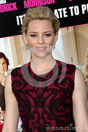 Elizabeth Banks arrives at the  Editorial Image