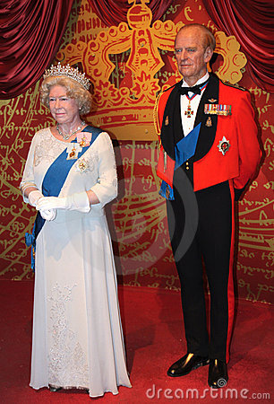 Elizabeth II and Prince Philip Editorial Image