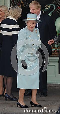 Elizabeth II, Queen, Queen Elizabeth, Queen Elizabeth II, Queen Elizabeth Editorial Stock Image