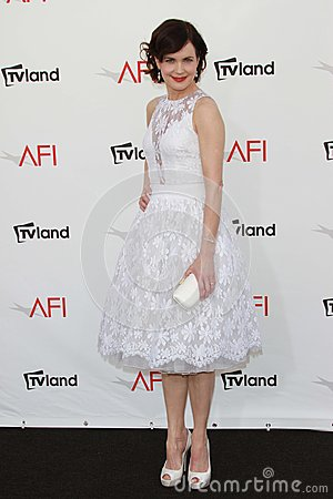 Elizabeth McGovern at the AFI Life Achievement Award Honoring Shirley MacLaine, Sony Pictures Studios, Culver City, CA 06-07-12 Editorial Photography