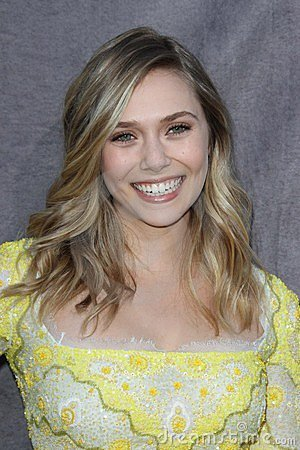 Elizabeth Olsen Editorial Photo
