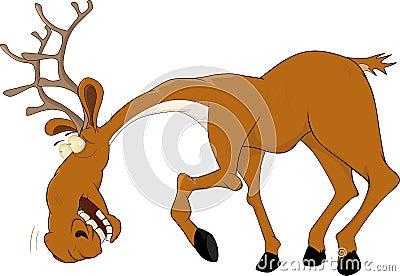 Elk caricature