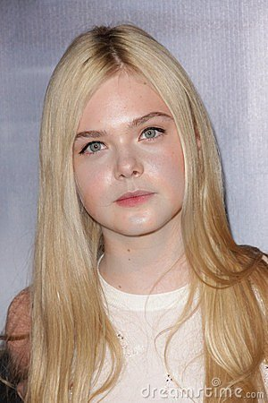 Elle Fanning,  Editorial Photo