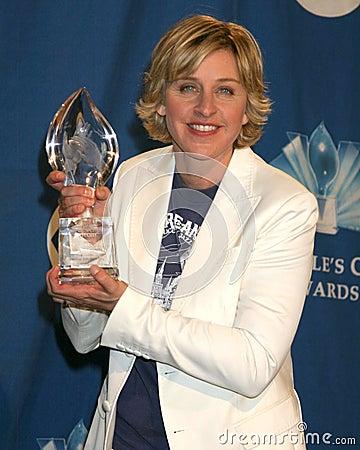 Ellen De Generes Editorial Stock Image
