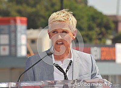Ellen Degeneres Editorial Photo