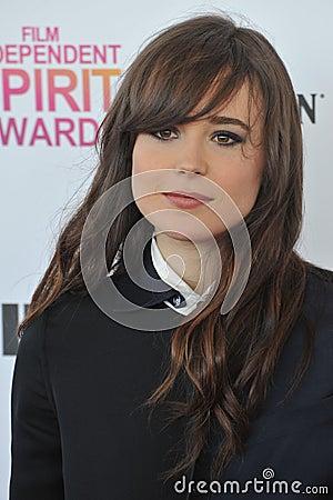 Ellen Page Editorial Photo