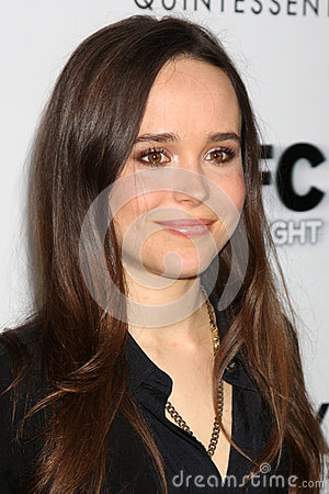 Ellen Page Editorial Stock Photo