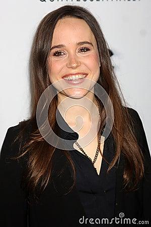 Ellen Page Editorial Image